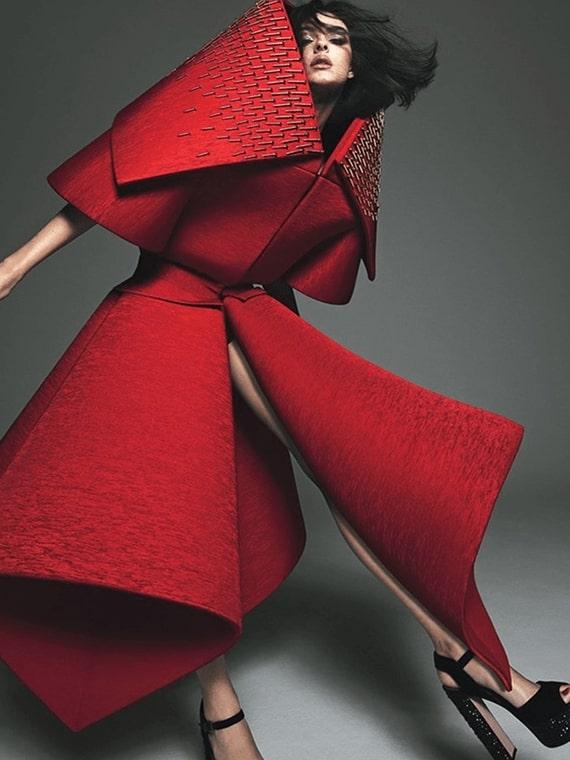 W Magazine Vittoria Cerretti wearing Caudalie