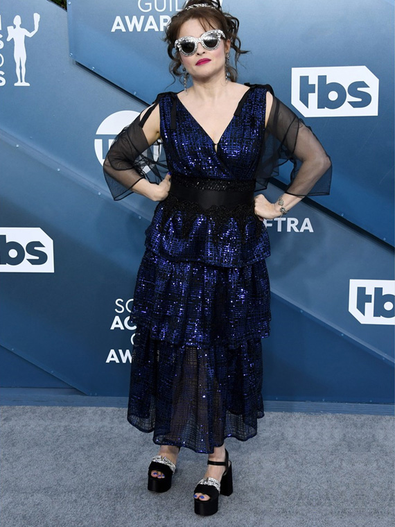 Helena Bonham Carter wearing FLORRIE