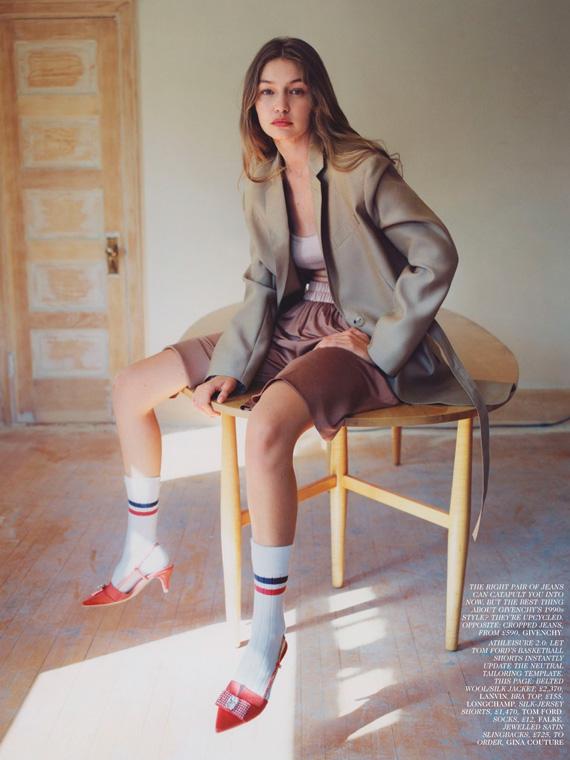 Gigi Hadid wears GINA