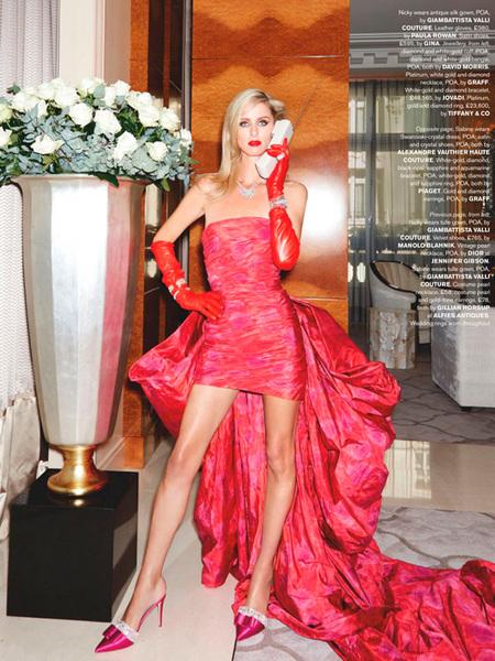 Nicky Hilton wears ELSIE in Tatler