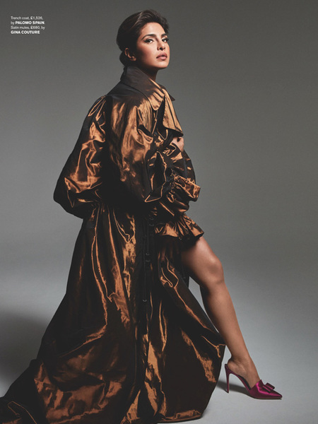 Priyanka Chopra wearing BOUVIER
