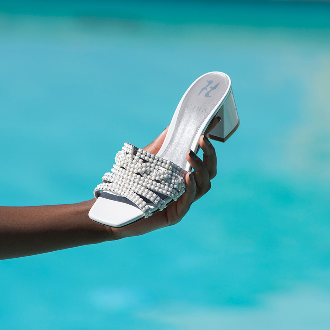 UTAH in White Chic GINA Sandals #2