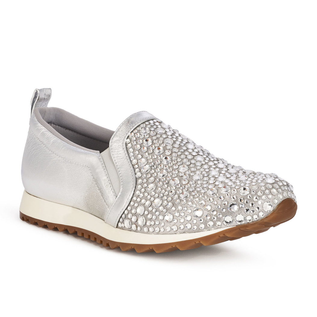 ENNIS in Silver Rocher GINA Trainers #2