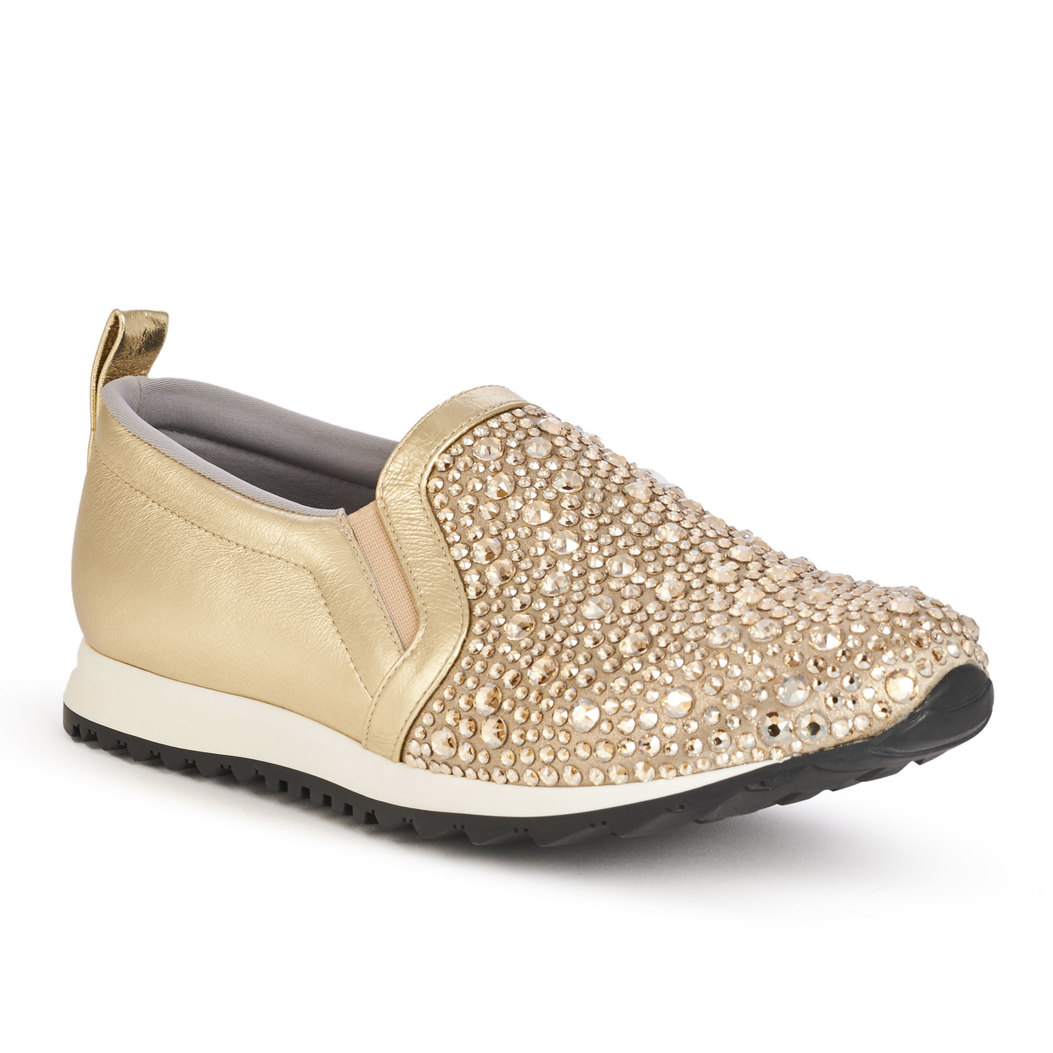 ENNIS in Platinum Rocher GINA Trainers #2