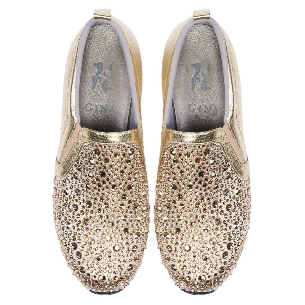 ENNIS in Platinum Rocher GINA Trainers #3