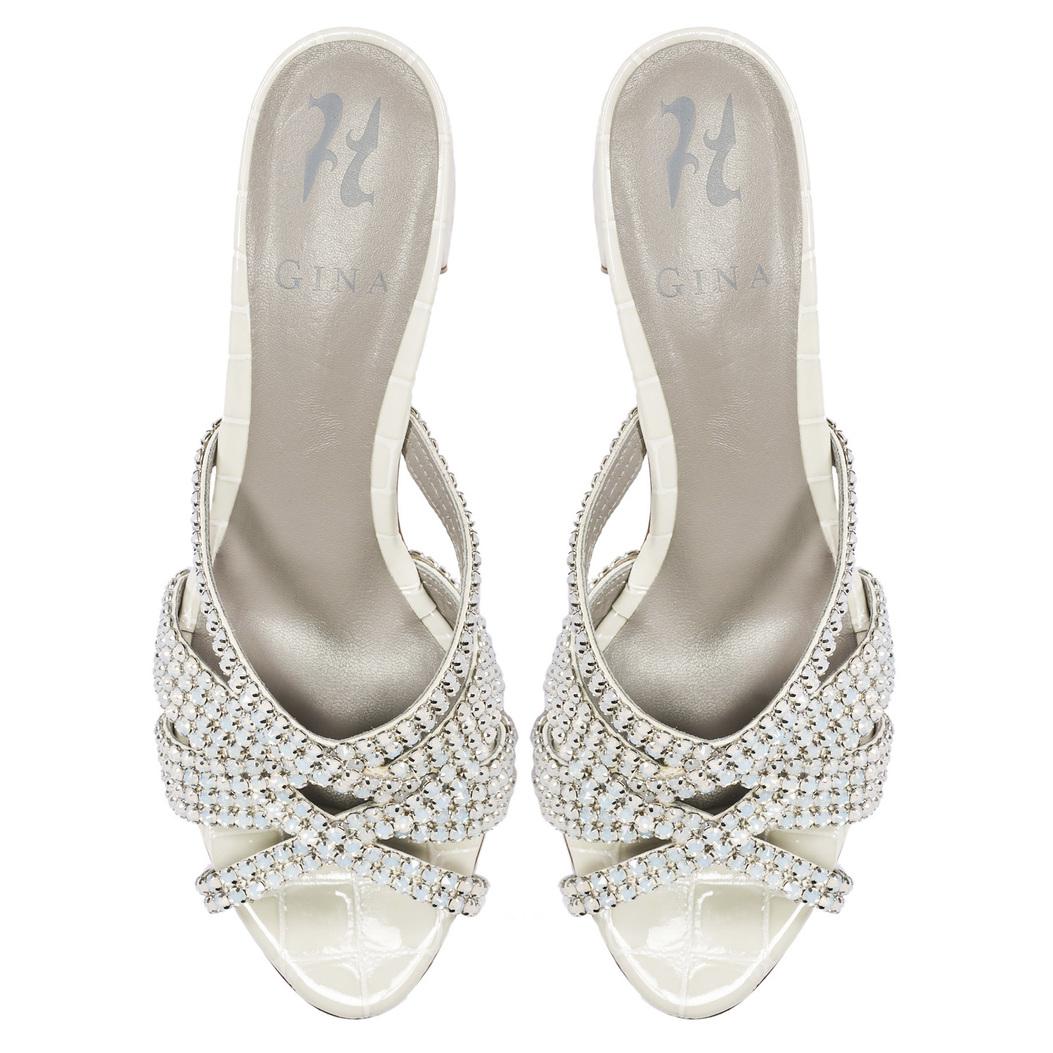 DEXIE in Ecru Louis GINA Sandals #3
