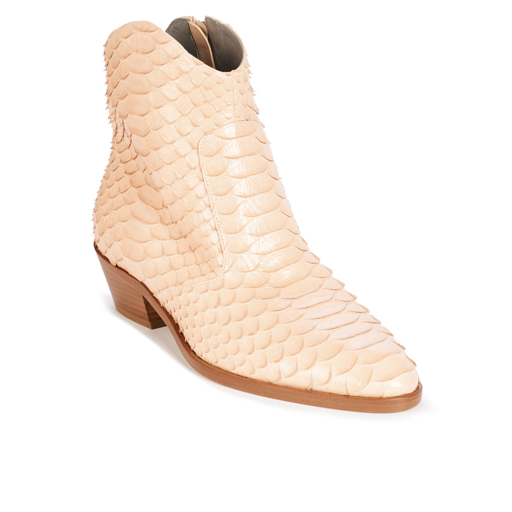 CANYON in Rose Varnish Python GINA Boots #2