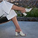 APOLLO in Ecru Louis GINA Sandals #2