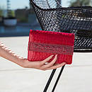 MAYFAIR in Rouge Louis GINA Bags #2