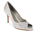 AYRES in Light Grey Satin GINA Bridal #2