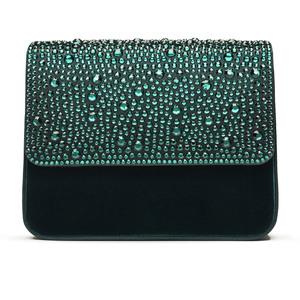 SLOANE in Emerald Velvet