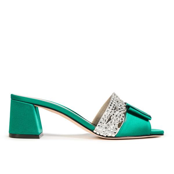 CORSICA in Emerald Satin