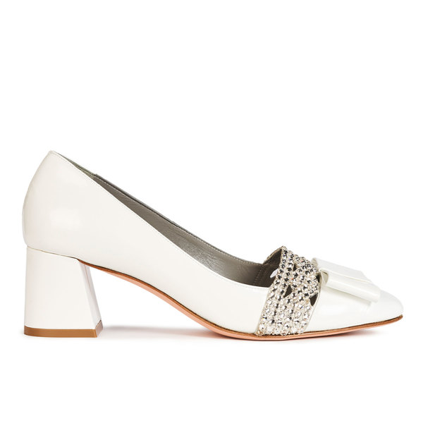 NINETTE in White Patent