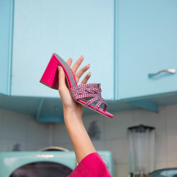 ARIZONA in Fuschia Chic GINA Sandals #2