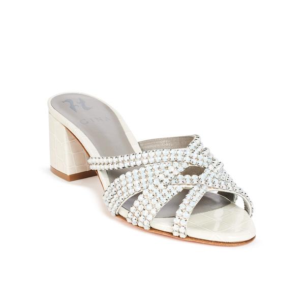 DEXIE in Ecru Louis GINA Sandals #2