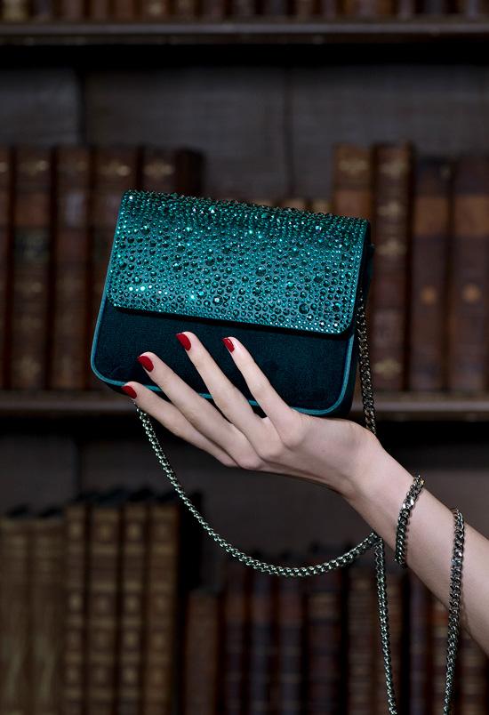 GINA AW19 SLOANE In Emerald Velvet